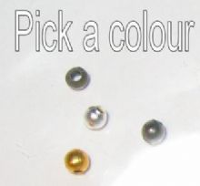 2mm round spacer beads x 250. Pick a colour.